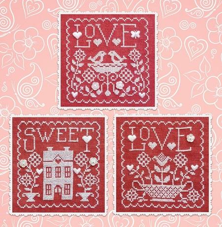 Waxing Moon Designs Love Sweet Love