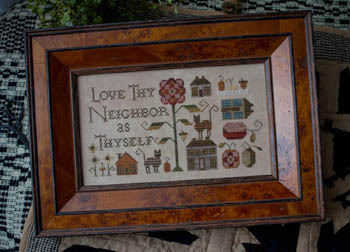 Love Thy Neighbor by Plum Street Samplers