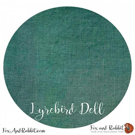 FOX AND RABBIT- LYREBIRD DELL 32CT,17 X 26