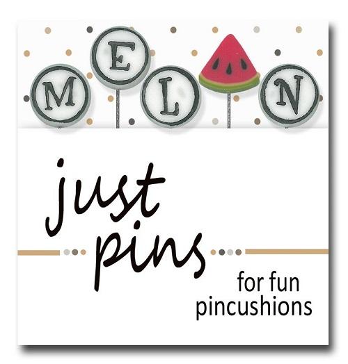 JUBCO M is for Melon pin set