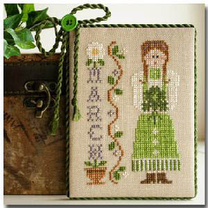 Calendar Girls-March by Little House of Needleworks