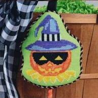 Pepperberry Designs masked Jack-o-Lantern