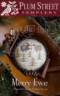 Merry Ewe-Jacks sweet Shop by Plum Street Samplers