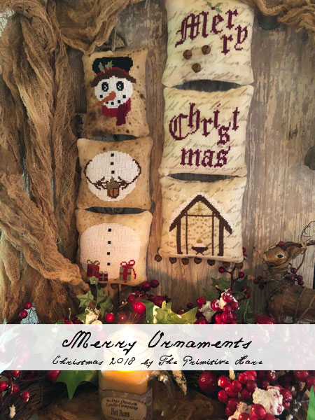 Merry Ornaments by The Primitive Hare