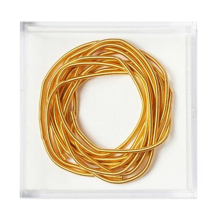 Gilt Wire Bullion #1,MET-1009