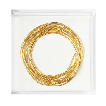 Gilt Smooth Purl #7,MET-1034