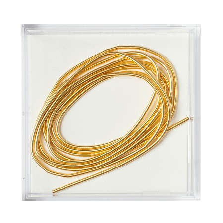 Gilt Smooth Purl #5,MET-1036