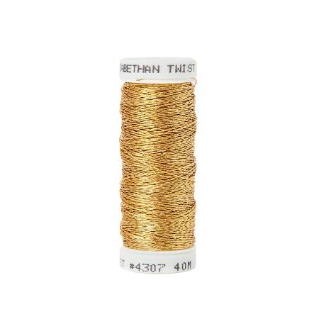 Gilt passing thread Elizabethan Twist 2% Gold,MET4307