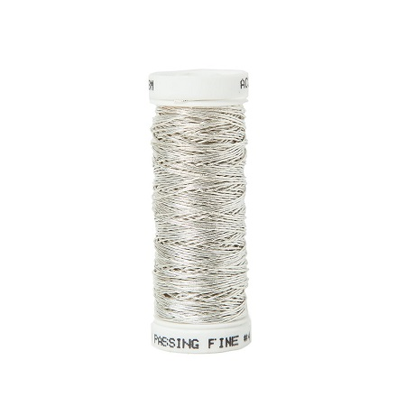 Silver Smooth Passing Fine #4 with Silk Core,MET-4655