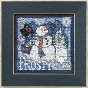 Frosty Snowman-MH140304- by Mill Hill