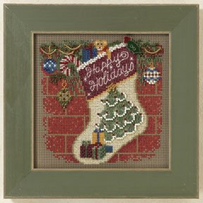 Holiday stocking-MH141305- by Mill Hill
