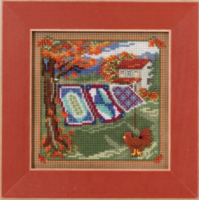 Country Quilts,MH141621,Mill Hill