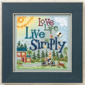 Live simply-MH142101- by Mill Hill