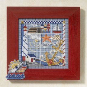 Seaside sampler-MH147105- by Mill Hill