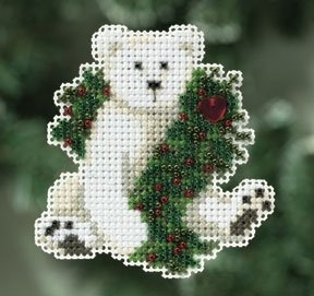 Holiday Polar Bear,MH180306,Mill Hill