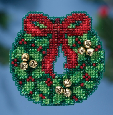 Jingle Bell Wreath,MH181632,Mill Hill