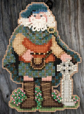 Celtic Scotland Santa,MH205301 by Mill Hill