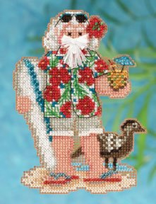 Hawaii Santa-MH202301- by Mill Hill