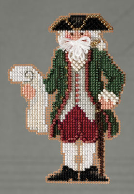 Williamsburg Santa-MH203301- by Mill Hill