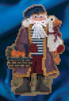 Joyeux Noel Santa,MH204302,Mill Hill