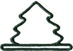MILL HILL Green Mini Tree BELL PULL,MHMMT2