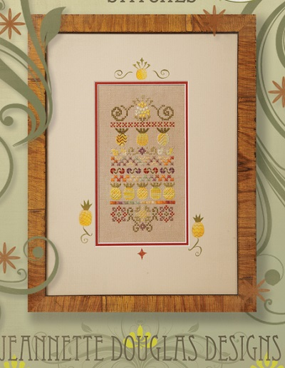 Jeannette Douglas Designs Mini pineapple