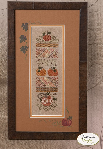 Jeannette Douglas Designs Mini Pumpkin Stitches