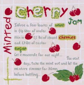 Minted cherry jam by Lili Points