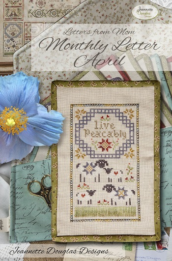 Jeannette Douglas Designs Letters From Mom 9 - April