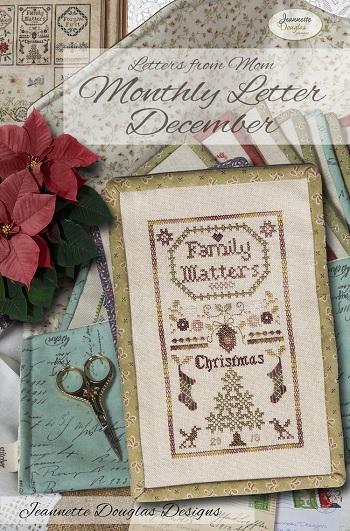 Jeannette Douglas Designs Letters From Mom 5 - December
