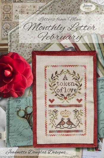 Jeannette Douglas Designs Letters From Mom 7 - February