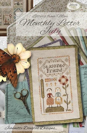 Jeannette Douglas Designs Letters From Mom 12 - July