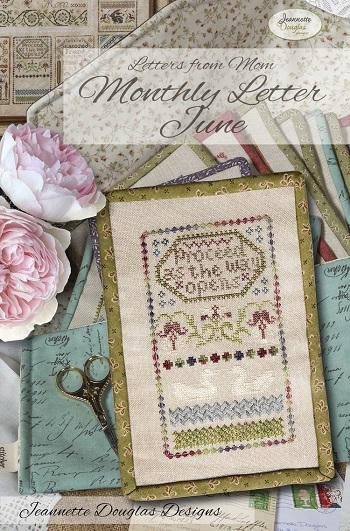 Jeannette Douglas Designs Letters from Mom - Monthly Letter June