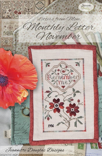 Jeannette Douglas Designs Letters From Mom 4 - November