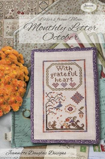 Jeannette Douglas Designs Letters From Mom 3 - October