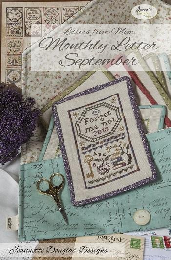 Jeannette Douglas Designs Letters From Mom 2 - September
