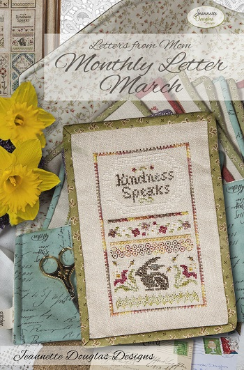 Jeannette Douglas Designs Letters From Mom 8 - March