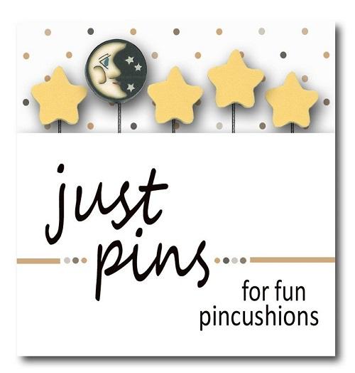 JUBCO Moon and stars pin set