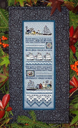 Mystic Christmas Sampler by The Victoria Sampler