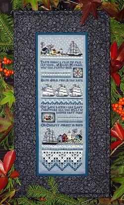 The Victoria Sampler Mystic Christmas Sampler