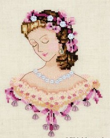 Portrait Of Caroline In Pink-NC104- by Nora Corbett