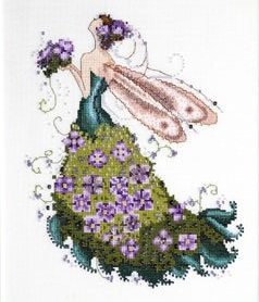 Lilac-Spring Garden-NC130- by Nora Corbett