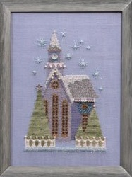Little Snowy Lavender Church-NC161-Nora Corbett