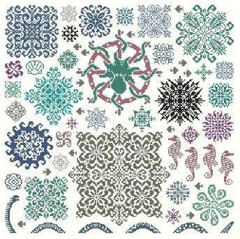 Sea stars by Ink Circles