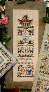 Noah's Garden sampler by The Victoria Sampler