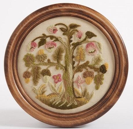 The Crewel Work Company Elizabethan oakapple tree