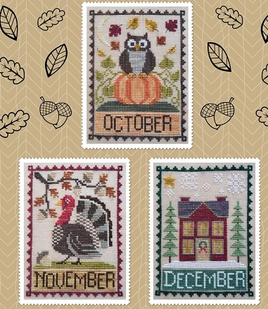 Waxing Moon Designs October,November,December