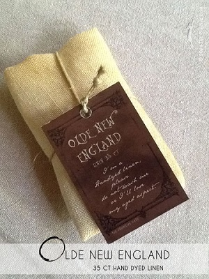 Olde New England linen,35ct,20x27