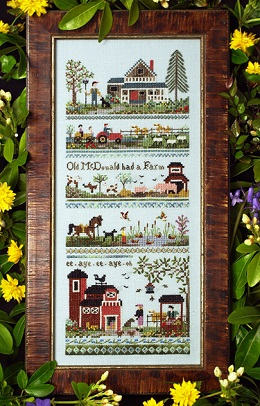 Old McDonald`s Farm Sampler by The Victoria Sampler