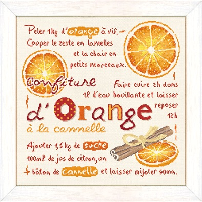 La confiture d'orange a la canelle by Lili Point